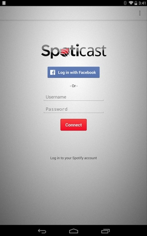 Spoticast Android image 4