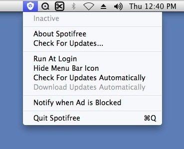 Spotifree Mac image 2