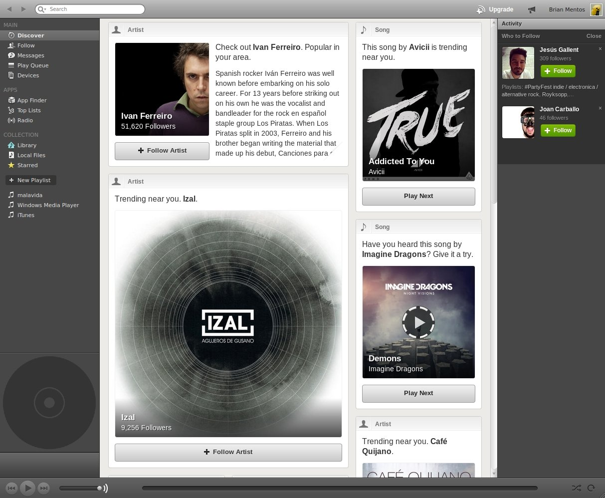 Spotify Linux image 4