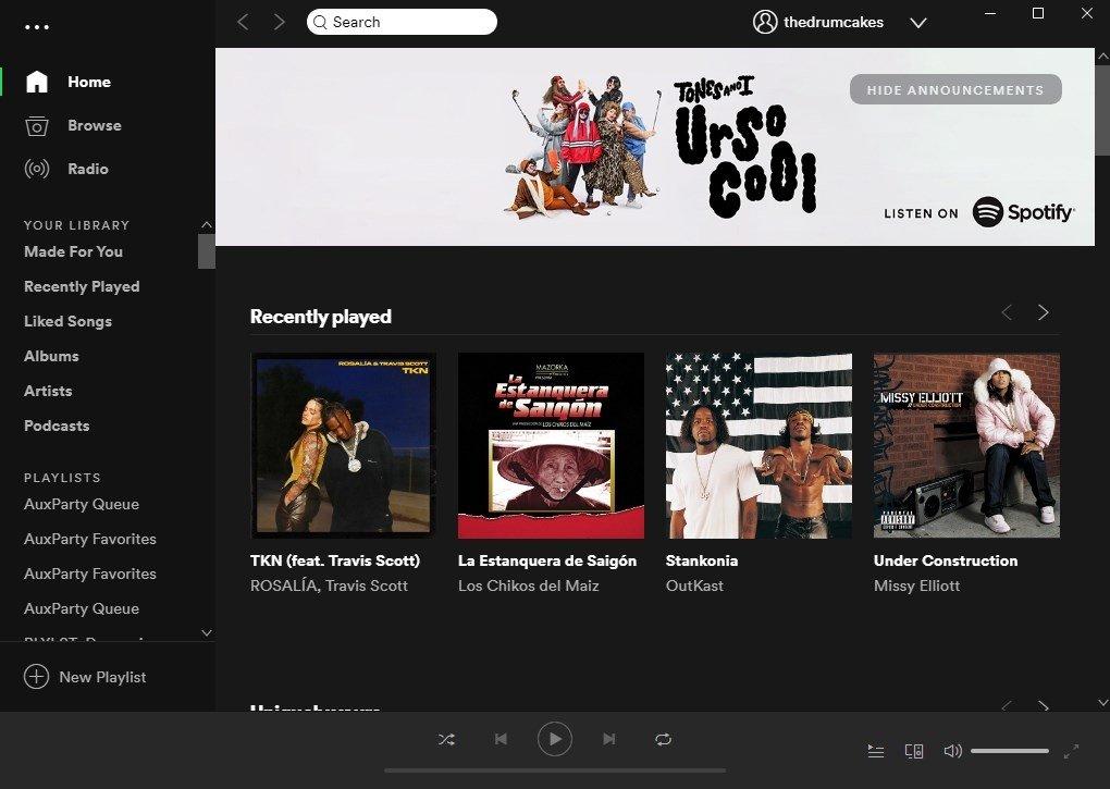 Spotify 1.0.7.157