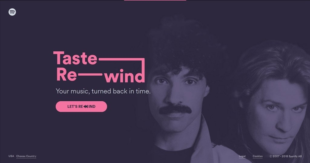 Spotify Taste Rewind Webapps image 6
