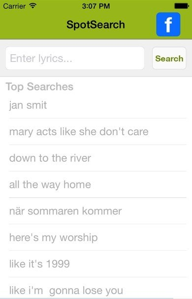SpotSearch for Spotify iPhone image 3