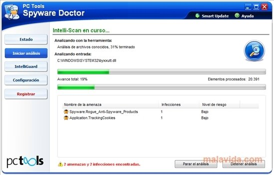 Spyware Doctor - latest version 2016 free download