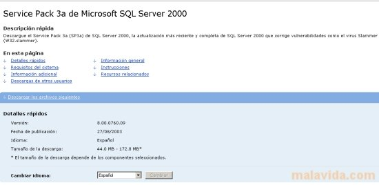 Microsoft Sql Server 2000 Sp3 Скачать