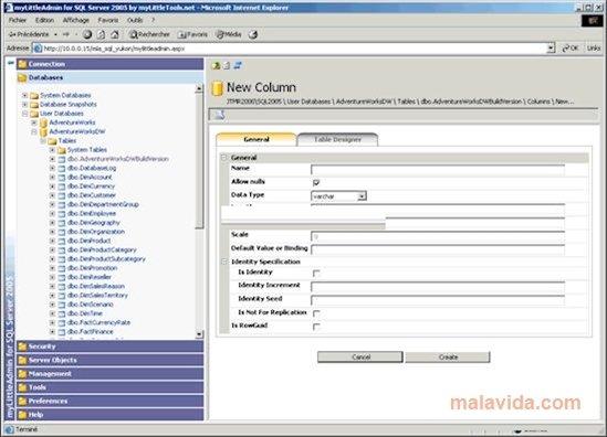 SQL Server 2005 SP1 image 2