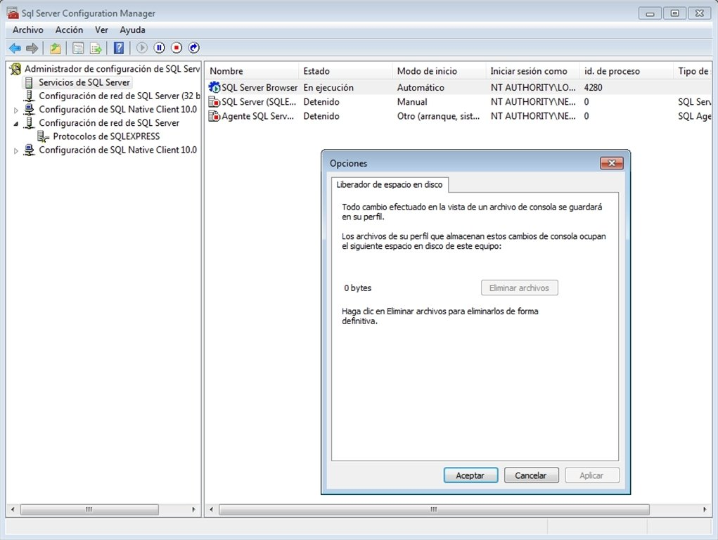 SQL Server 2008 Express - Download for PC Free