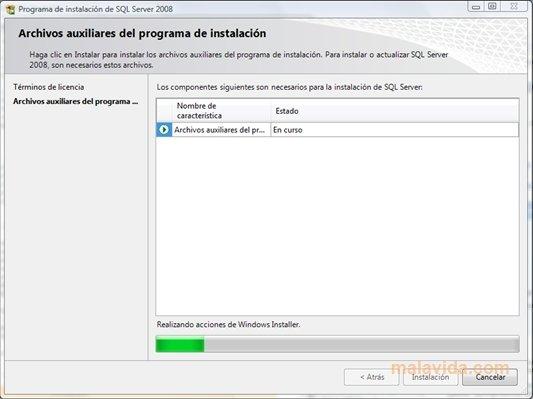 SQL Server 2008 SP1 image 2