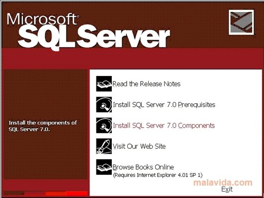 SQL Server 7 SP4 image 2