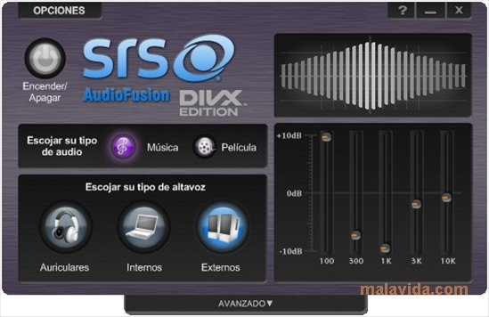 SRS AudioFusion DivX Edition 2 00 0800 - Download for PC Free