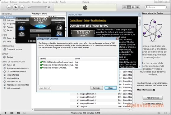 SRS iWOW 3 2 0 0 - Download for PC Free