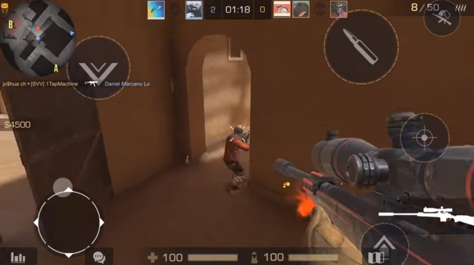 download shooter games for android