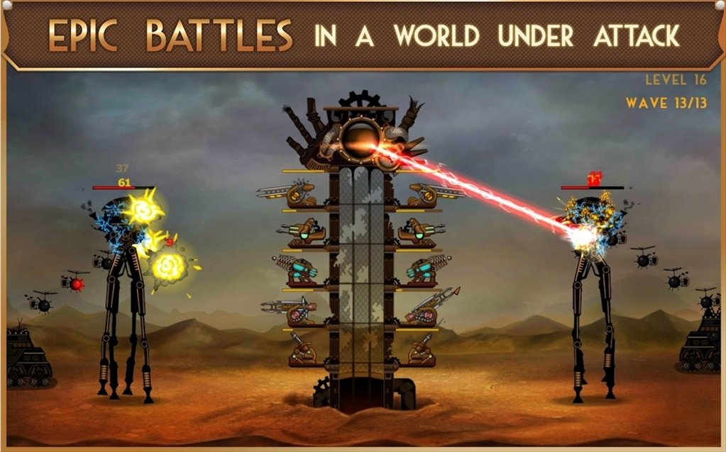 Steampunk Tower Android image 6