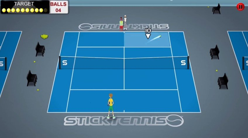 Stick Tennis Tour iPhone image 5