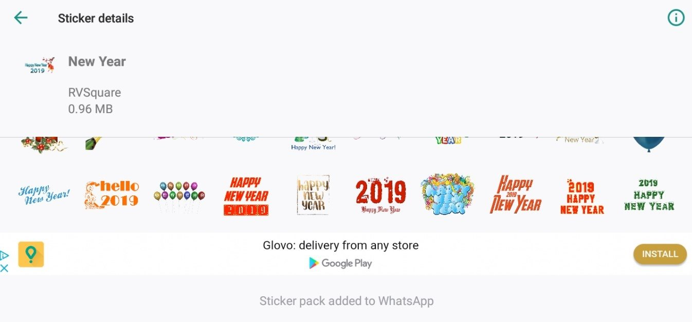 Christmas Stickers for WhatsApp 1 3 - Download for Android