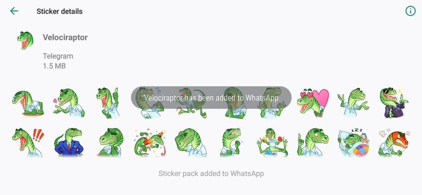 Telegram Stickers for WhatsApp 1 0 - Download for Android