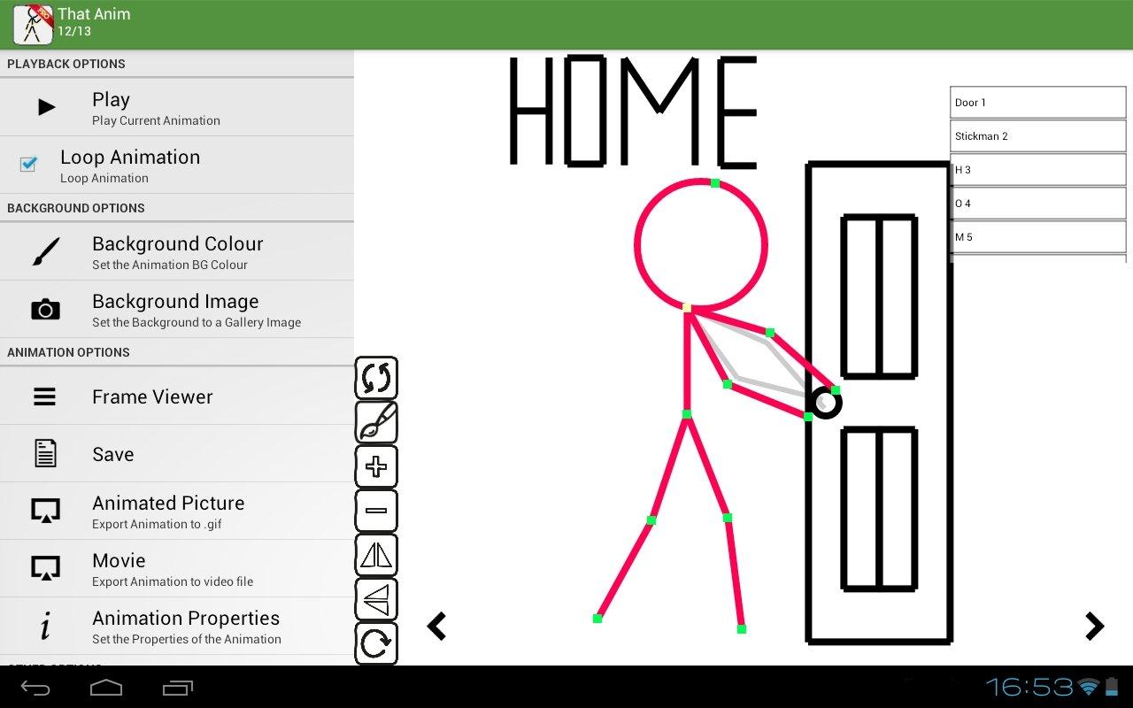 Stickfigure Animator Android image 5