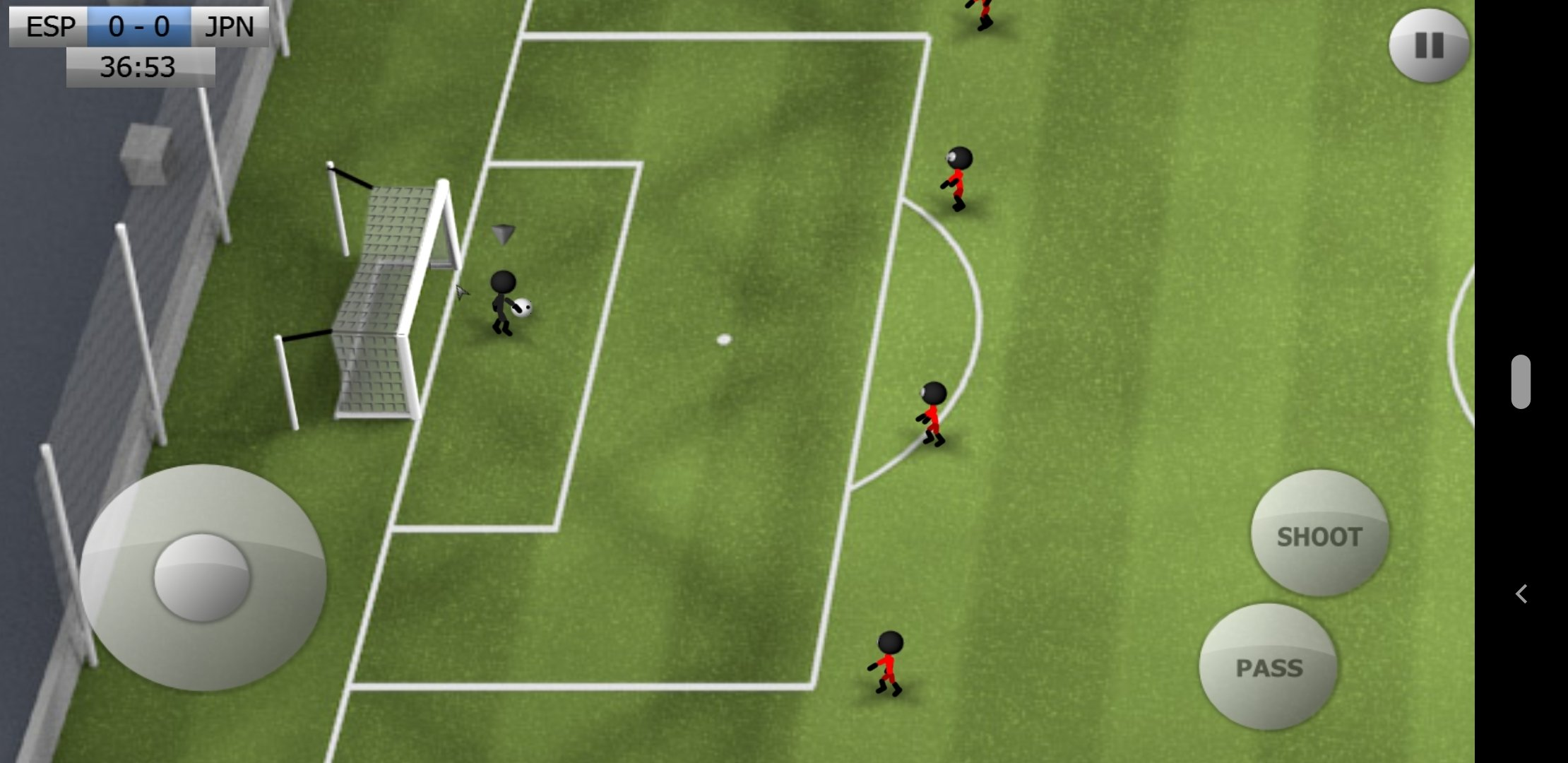 Stickman Soccer Android image 8