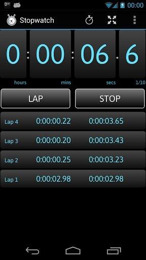 cronometro gratis per android