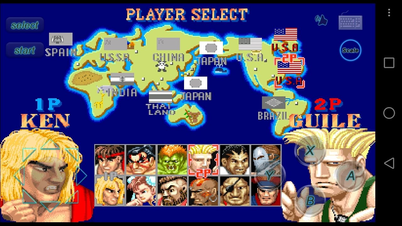 descargar street fighter champion edition android apk