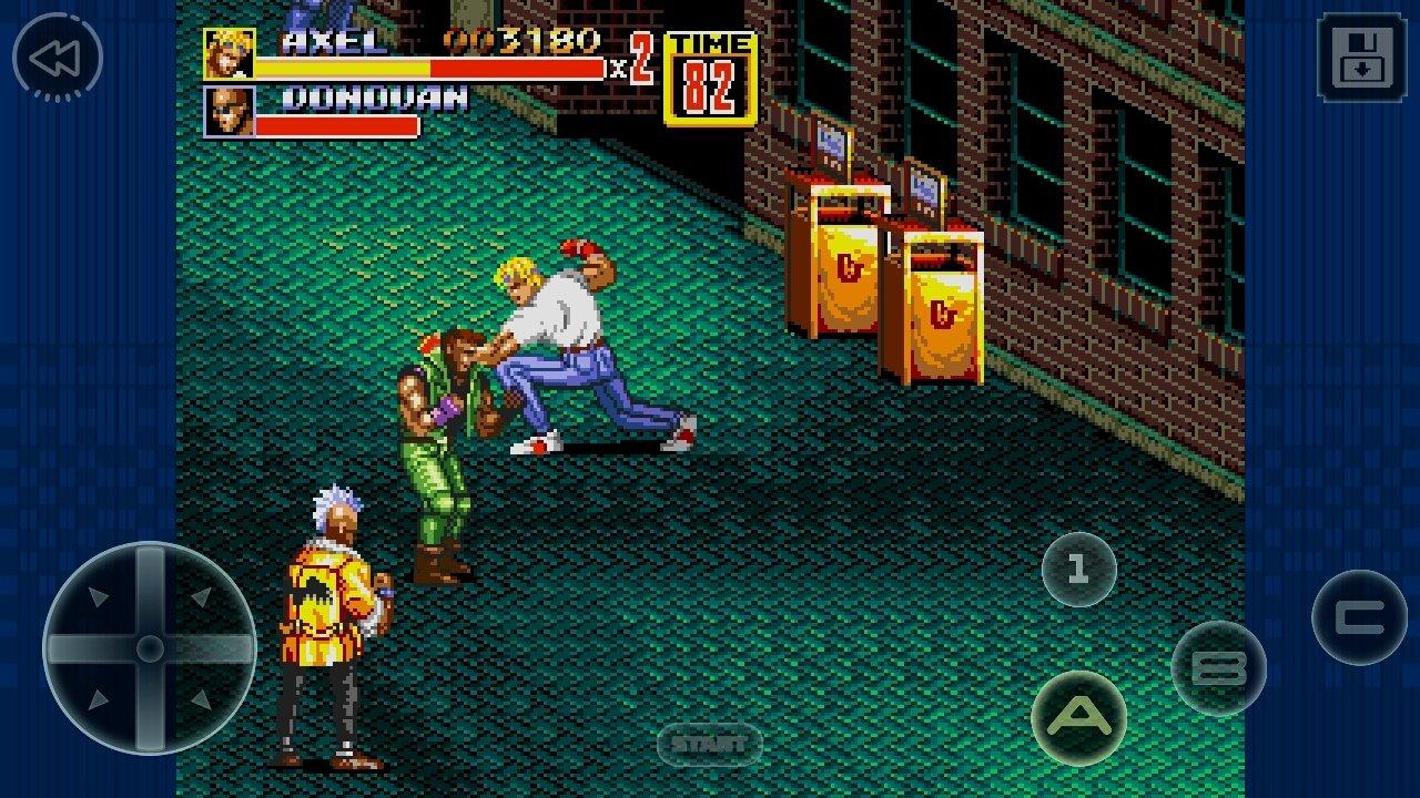 Скачать бесплатно игру улечные бои 2 streets of rage 2, эмулятор.