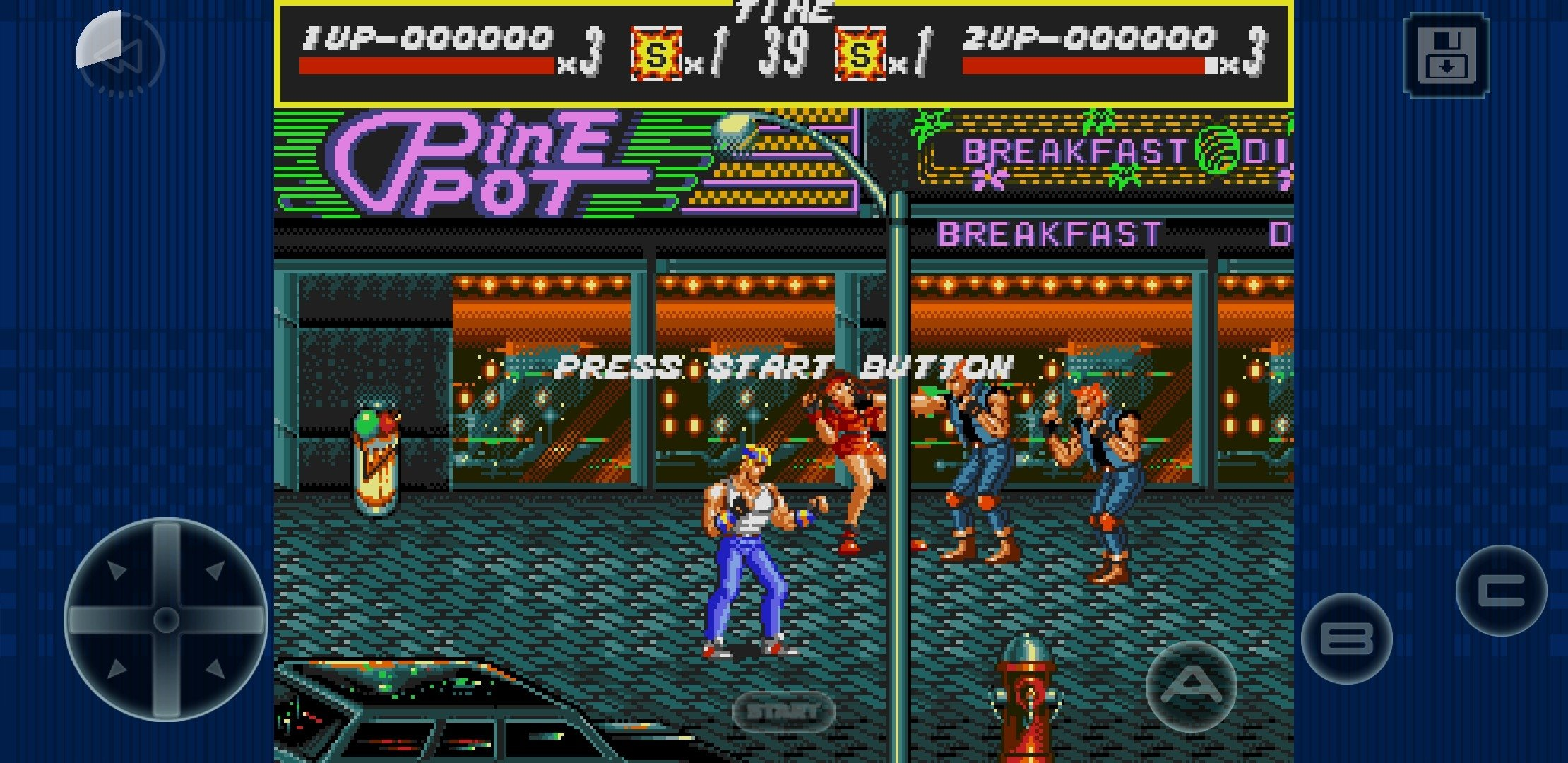 Streets of Rage Classic 2 0 2 - Download for Android APK Free