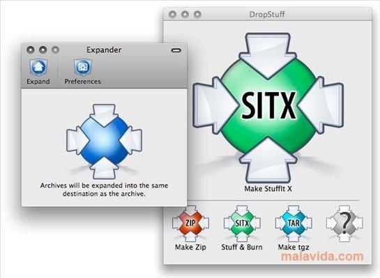 Stuffit Expander Mac image 4
