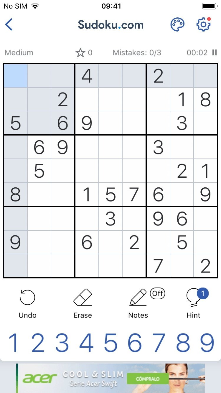 Sudoku - Classic Sudoku Puzzle Game - Download for iPhone Free