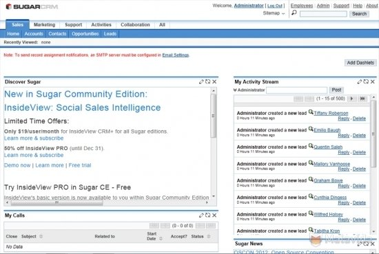 sugarcrm community edition