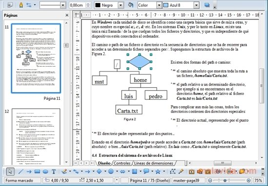 Openoffice pdf extension
