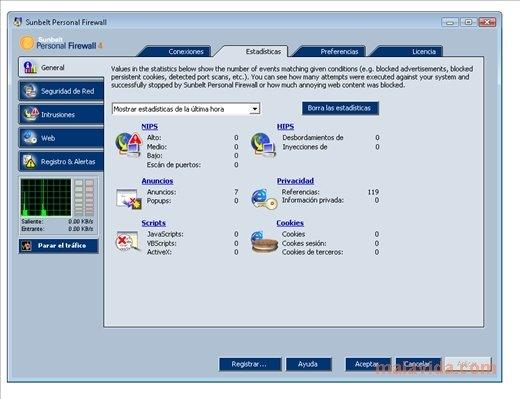 sunbelt firewall gratuit