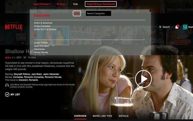 Super Browse for Netflix image 2