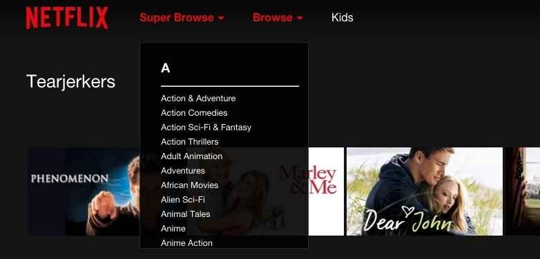 Super Browse for Netflix 1 6 6 - Download for PC Free