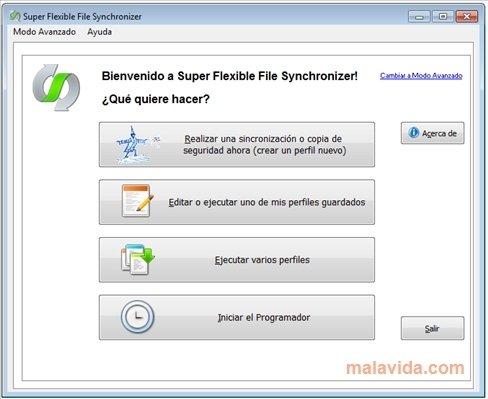 Super Flexible File Synchronizer image 4