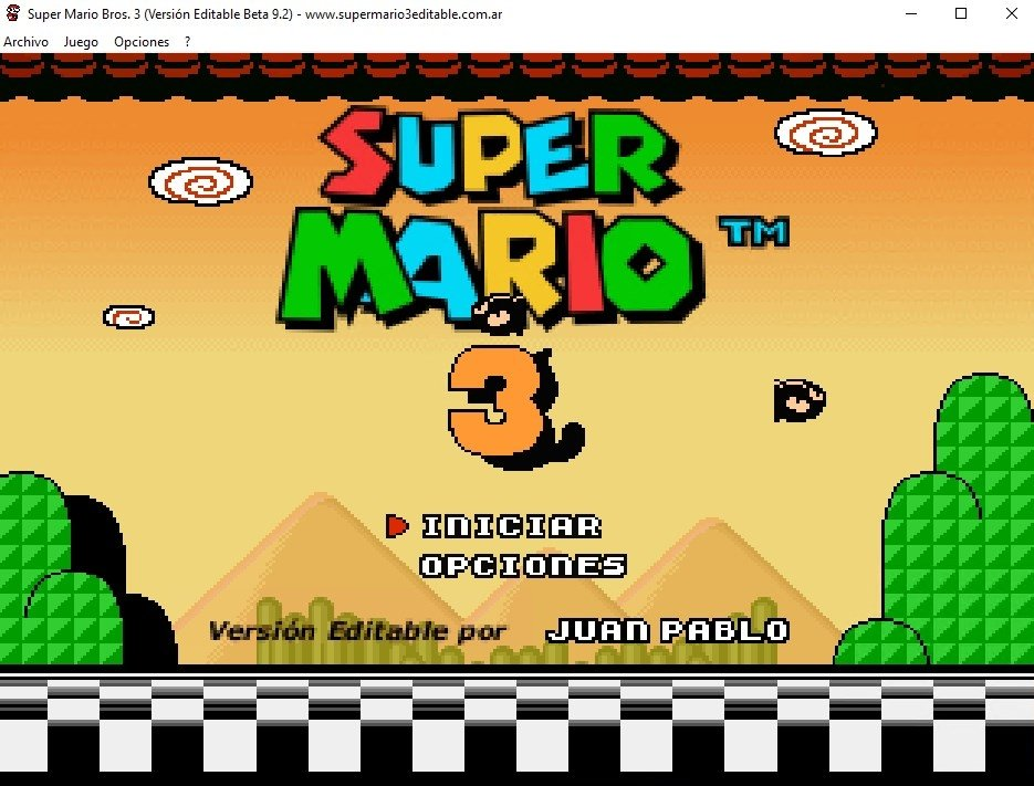 Super Mario Bros 3 Editable Beta 9.2