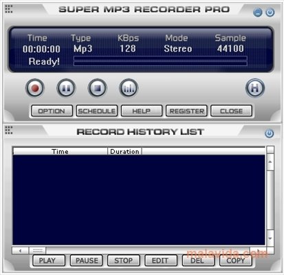 Super MP3 Recorder image 4