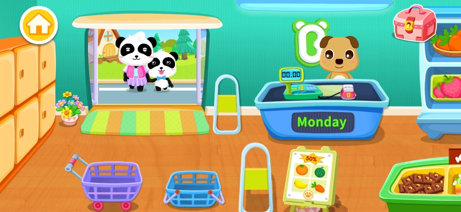 Baby Panda's Supermarket Android image 7