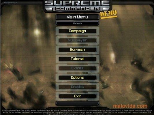 supreme commander free