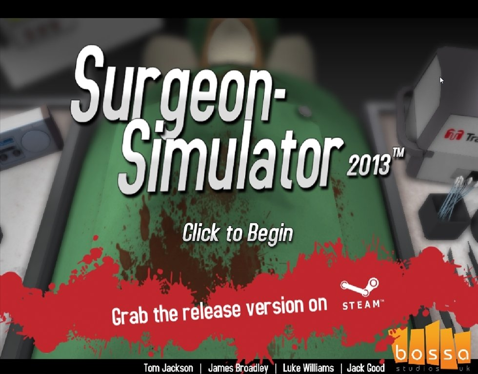 Surgeon Simulator 2013 Demo