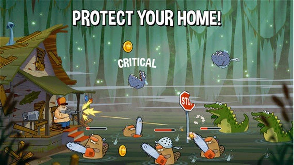 Можно ли скачать swamp attack на пк