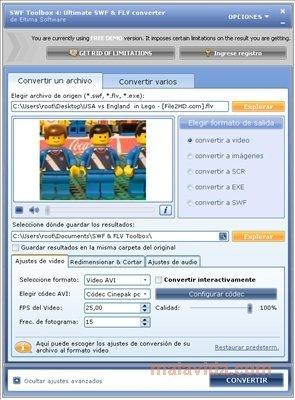 video swf da un sito