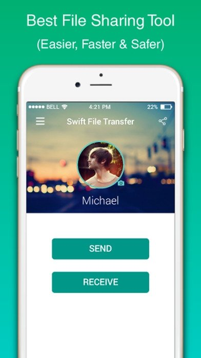 SFT - Swift File Transfer iPhone image 4