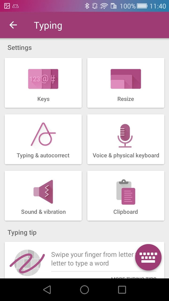 SwiftKey Keyboard 7 3 3 12 - Download for Android APK Free