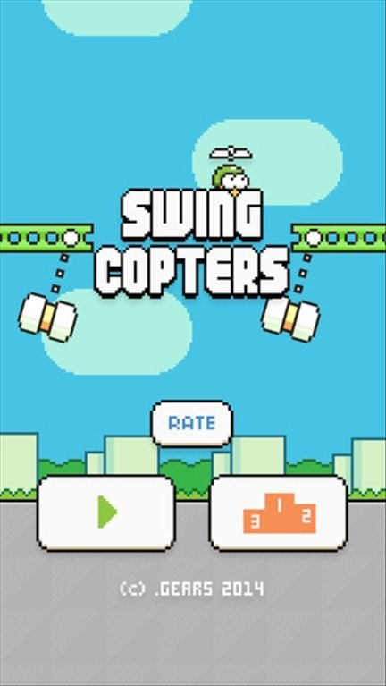 Swing Copters iPhone image 4