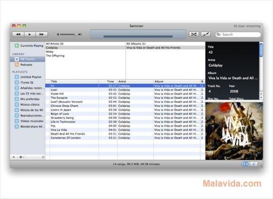 Swinsian Mac image 3