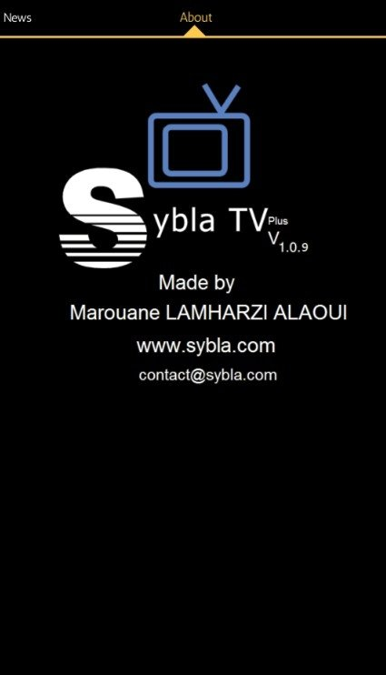Sybla TV 1 0 11 - Download for Android APK Free