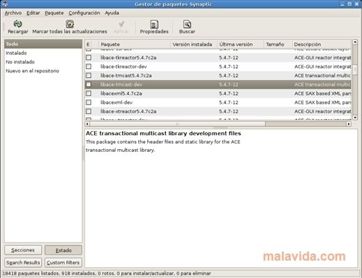 Synaptic Linux image 4