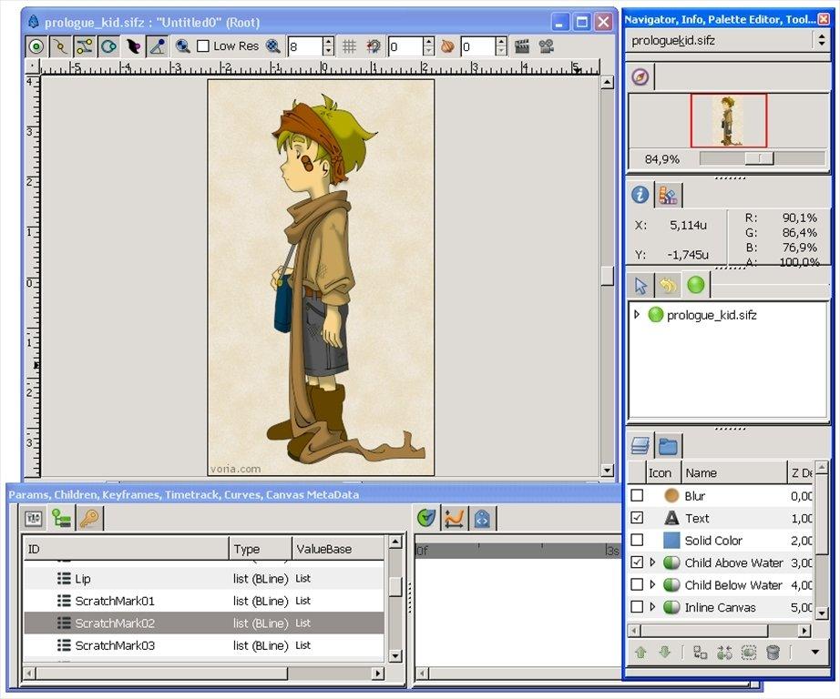 Synfig Studio image 5