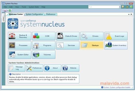 System Nucleus image 5