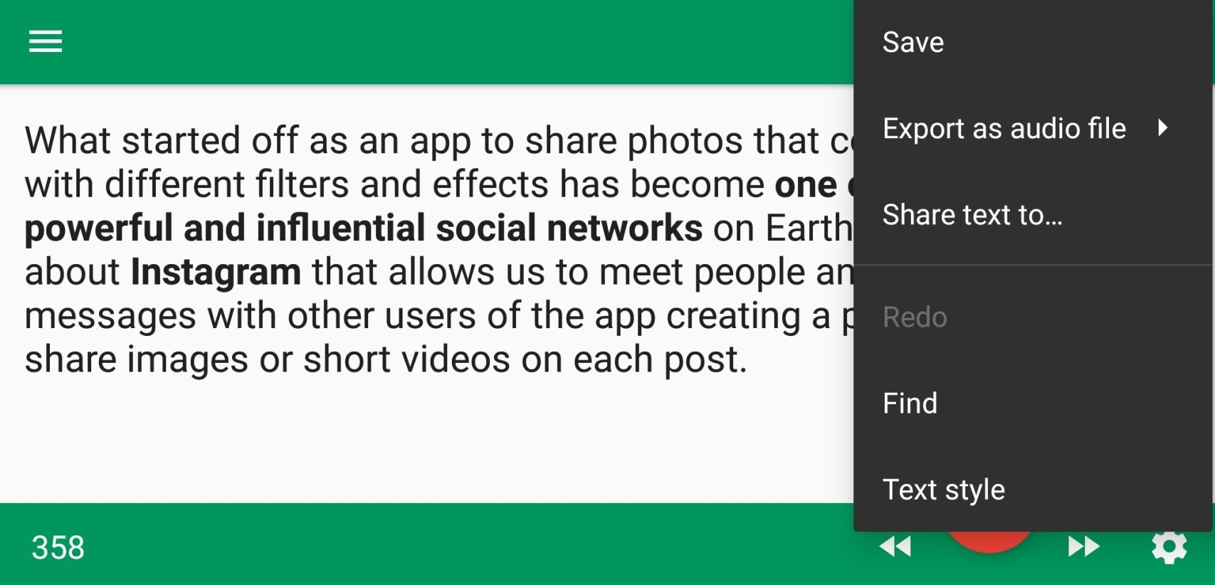 T2S: Text to Voice 0 8 3 - Download for Android APK Free