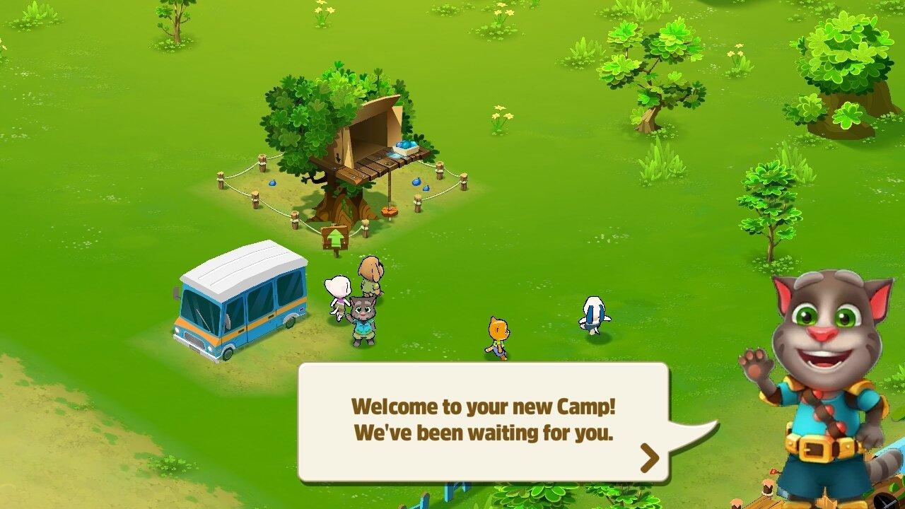 Descargar Talking Tom Camp 1 5 36 354 Android Apk Gratis